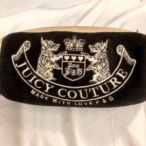 Juicy Couture Terry Cloth Cosmetic Bag